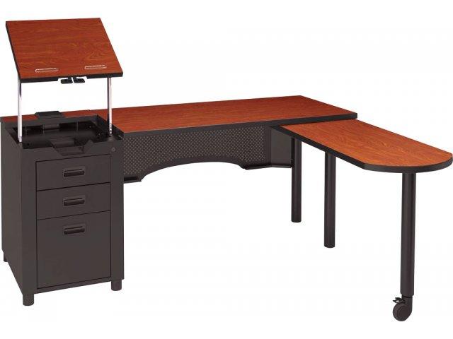 Deluxe Nate Teachers Desk with Integral Pedestal ACD2468