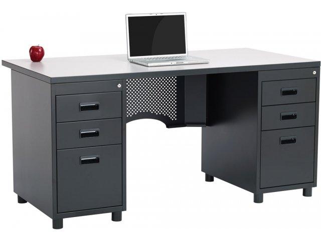 Nate Teachers Desk  Double Pedestal ACD3060 Teacher Desks