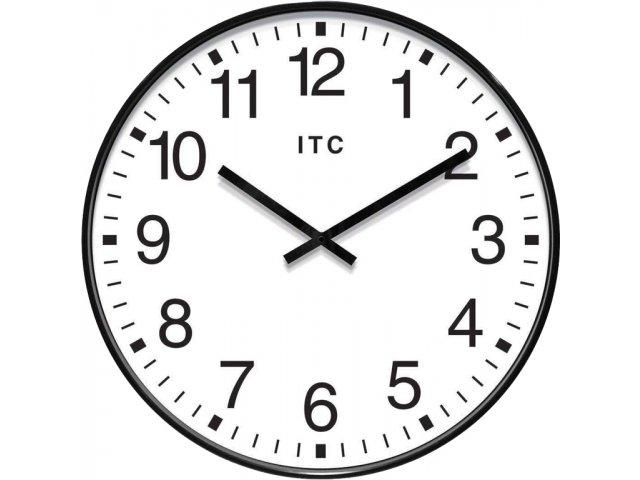 Profuse Black Oversized Classroom Wall Clock 19