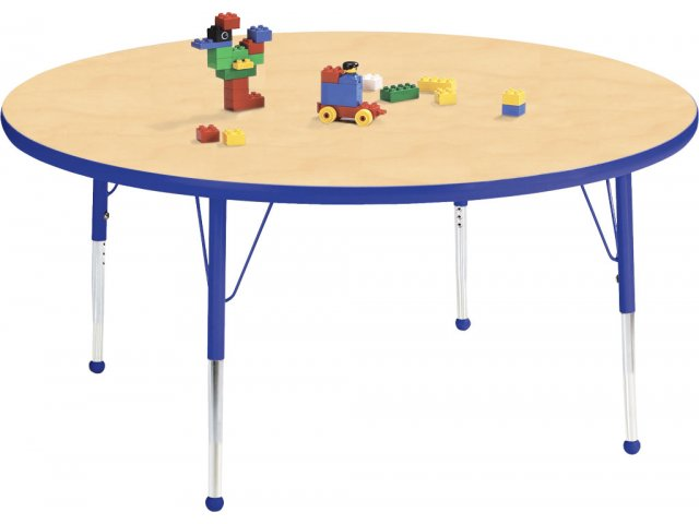 Edu Edge Round Activity Table with Ball Glides 48 dia