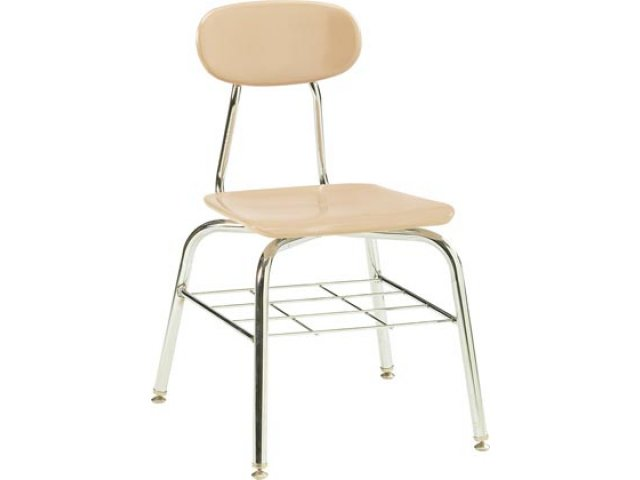 kids stackable chairs industrial dining chair deluxe hard plastic school with bookrack 15 75 h