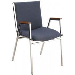 Stackable Chairs With Arms Massage Chair Stand For Xl Vinyl Stacking Arm Kfi-421v,
