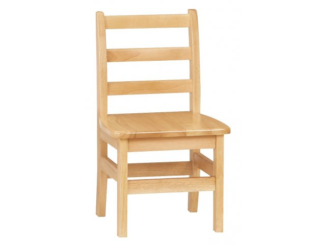wooden library chair children s time out ladderback school 12 h preschool chairs