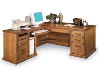 Americana L-Shaped Office Desk w/Left Return MAC-684L ...