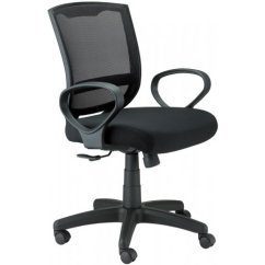 Office Chair Under 3000 Swivel Replacement Legs Maze W Loop Arms Mze Teacher Chairs