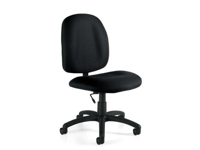 Armless Fabric Task Chair OTG