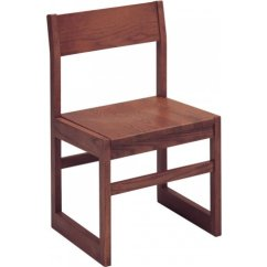 Wooden Library Chair Dunelm Loose Covers Integra Childrens Wood Angled Back Chairs