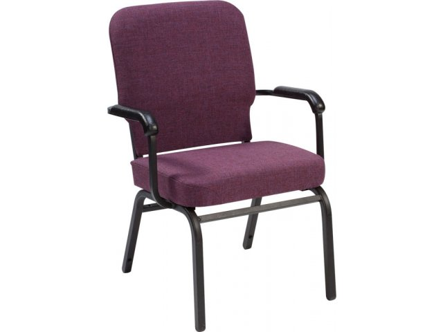 Oversized Church Chair with Arms SCP1041 Stacking Chairs