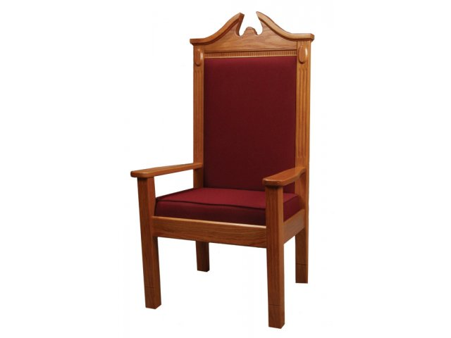 church chair accessories ethan allen adam affordable chairs pulpit hertz furniture side stained