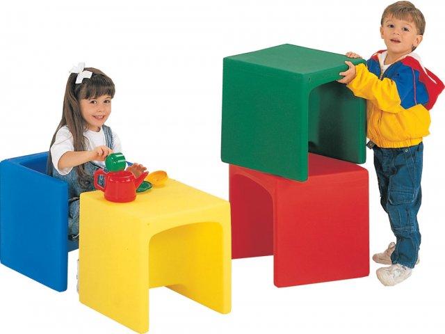 Preschool Cube Chairs  Set of 4 CFC007 Preschool Chairs