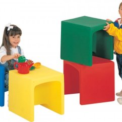 Folding Tables And Chairs Bulk Dining On Sale Preschool Cube - Set Of 4 Cfc-007,