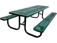 6' Extra Heavy Duty Perforated Picnic Table UPT-7230 ...