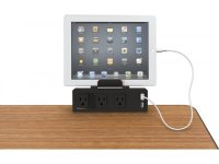 Clamp-Mount USB Power Strip BLT-675, Conference Tables