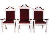 Side Pulpit Chair, Colonial TCF-820SC, Pulpit Furniture