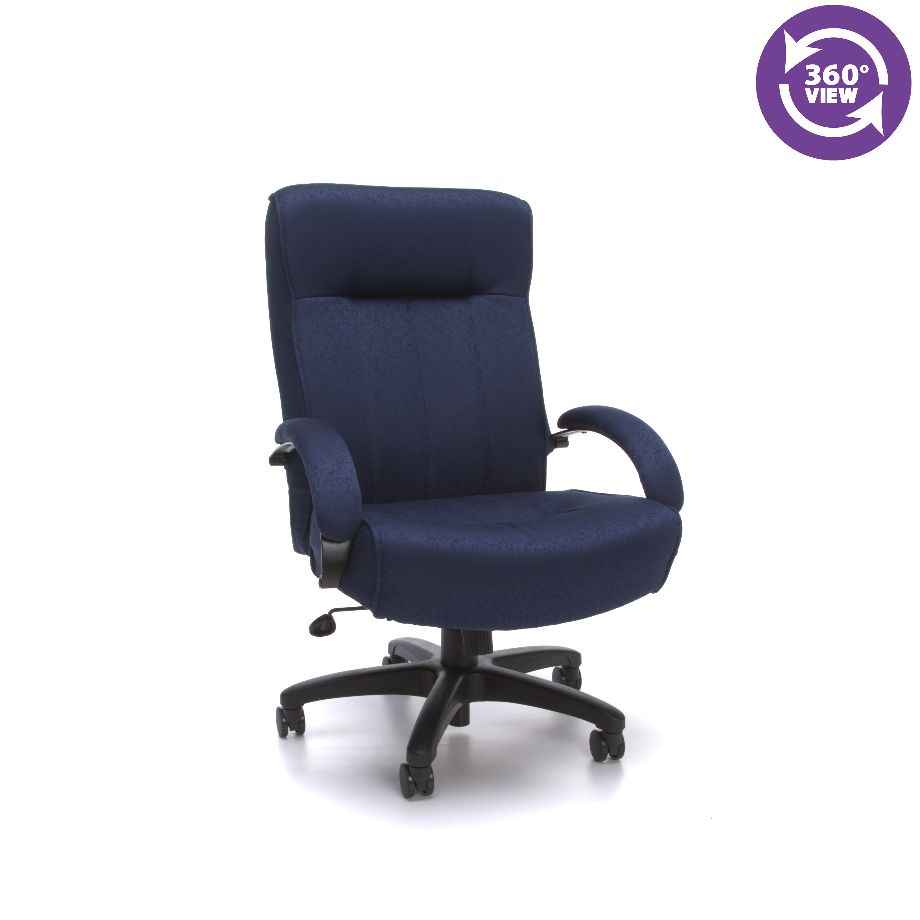 big and tall computer chair light oak kitchen chairs hi back executive office ofm 710