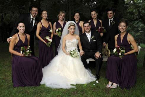 Alyssa Milano Bridesmaids' dresses, Two Bird Bridesmaid