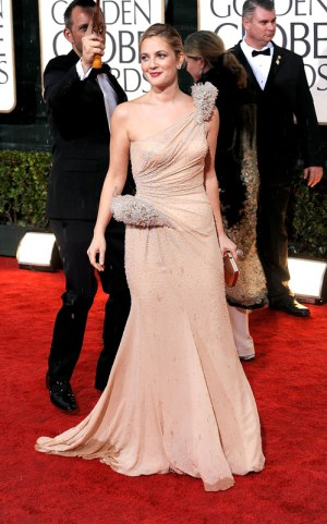Drew Barrymore 2010 Golden Globe Awards