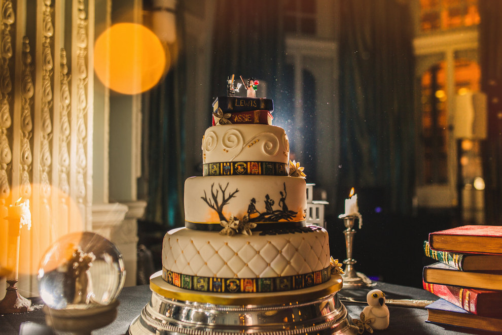 Harry Potter Themed Wedding 5