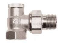 №2 Вентиль запорный для отключения радиатора ГЕРЦ-RL-1