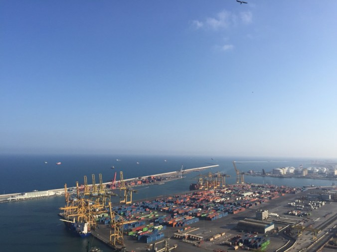 Frachthafen Barcelona 2015 Johanna Voll