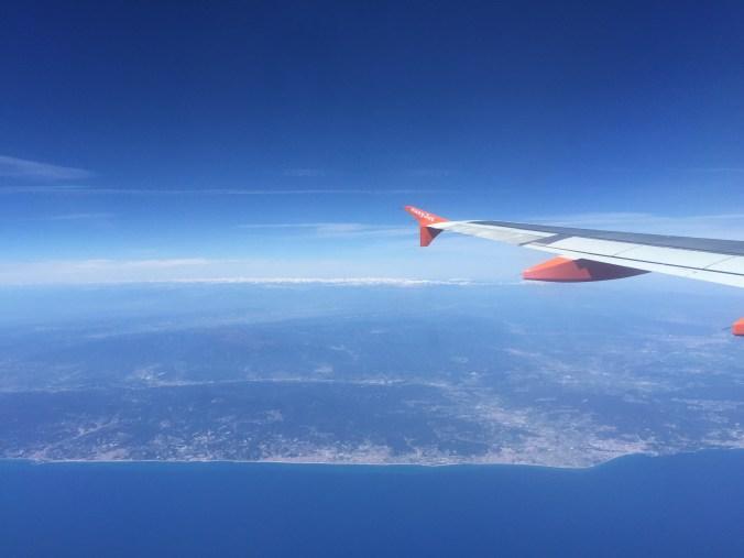 Rückflug Barcelona 2015 Johanna Voll