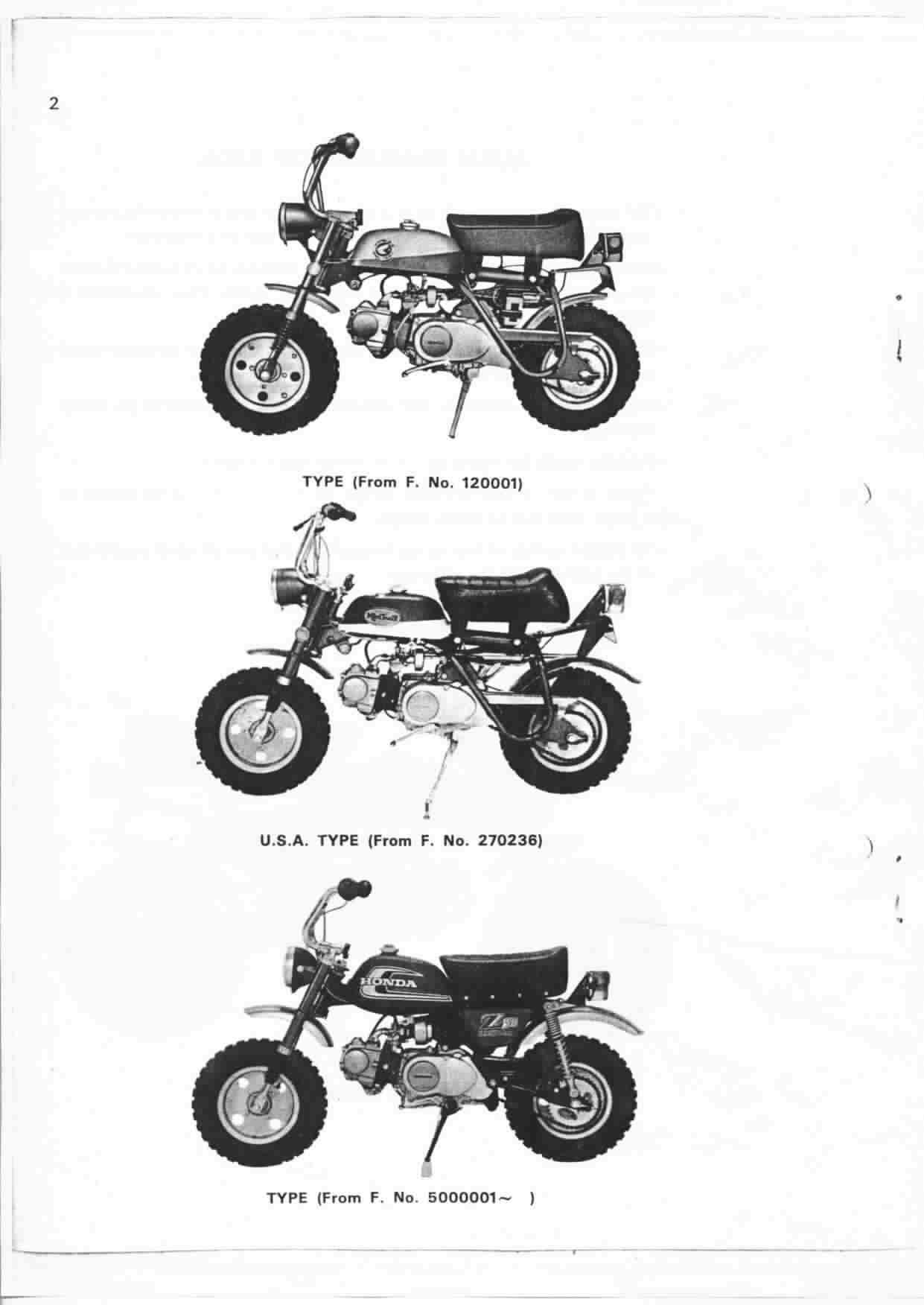 Honda monkey z50a tuning
