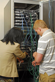 install, configure, manage, and maintain computer network systems