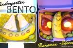Bananen-Ideen Bento Brotbox