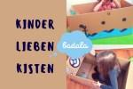 Spielzeugkiste Badala Sticker Aufkleber für Kartons