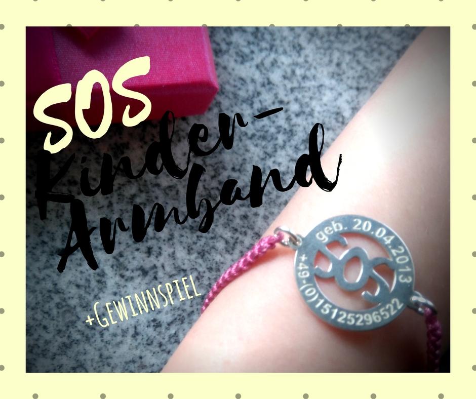 SOS-Armband für Kinder mit Telefonnummer