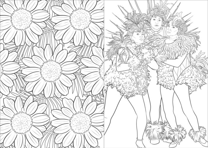 Picture It The Golden Girls Coloring Book Now Available He Said