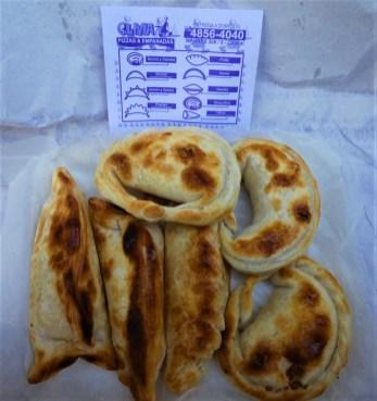 Empanadas from Olivia Pizzeria in Villa Crespo