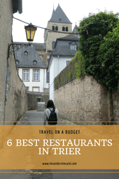 Pinterest Trier 6 Best Restaurants