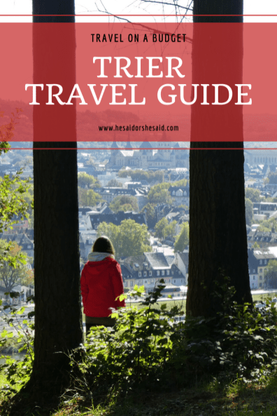 Pinterest Trier Travel Guide