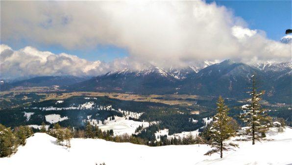 Bavarian Alps by Mittenwald