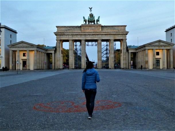 Brandenburg Gate in the Early Morning