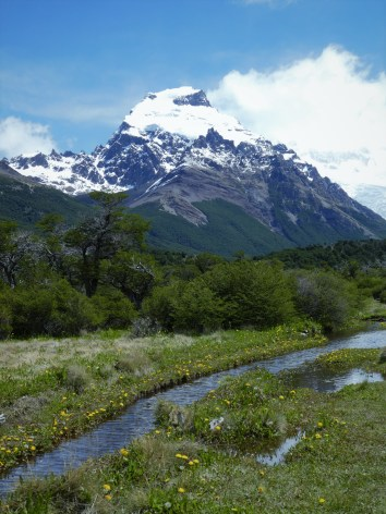 Cerro Torre Hiking Trail in Fitz Roy National Park