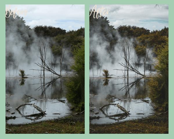 Moody Nature Preset Example 5