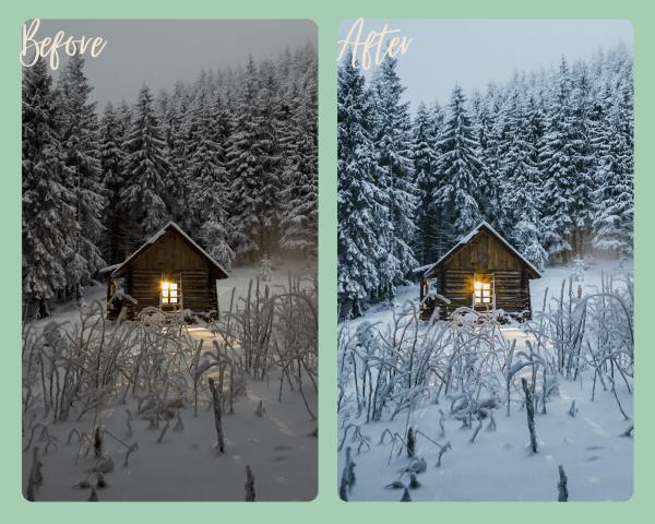 Winter Wonderland Preset Example 2