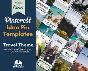 Travel Blogger Idea Pin Teaser
