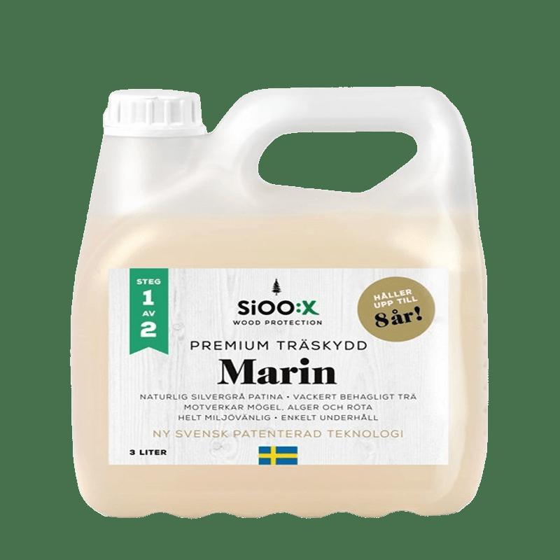 Premium Trä- och Ytskydd Marin Steg 1