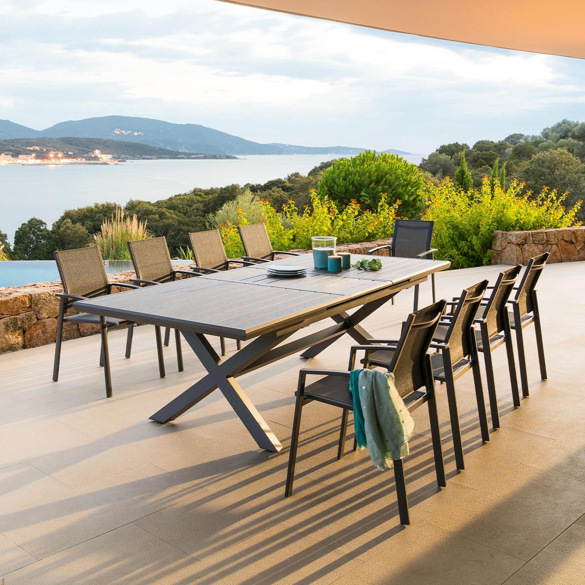 table de jardin extensible axiome hesperide com
