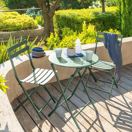 table de jardin pliante carree