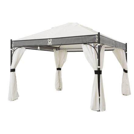 rideaux pour tonnelle jakarta blanc hesperide com