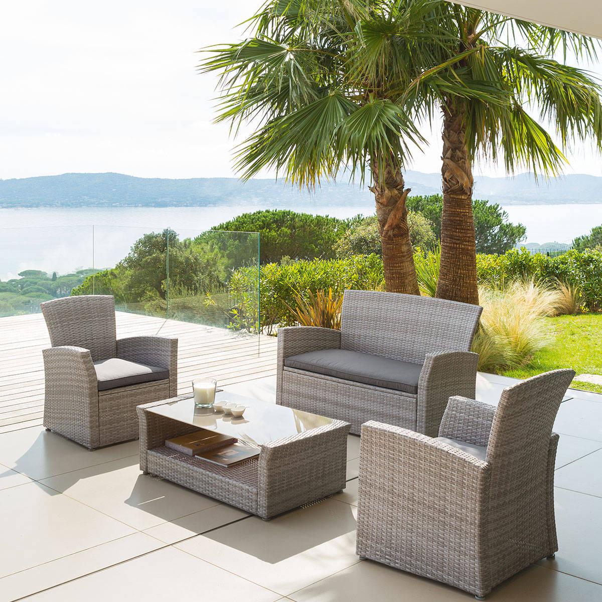 Beautiful Salon Jardin Hesperide Lavidia Contemporary ...