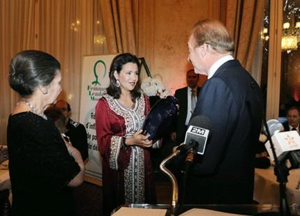 الأميرة للا مريم تتسلم جائزة النساء الرائدات عالميا - Hespress