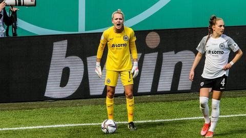 Eintracht goalkeeper Frohms