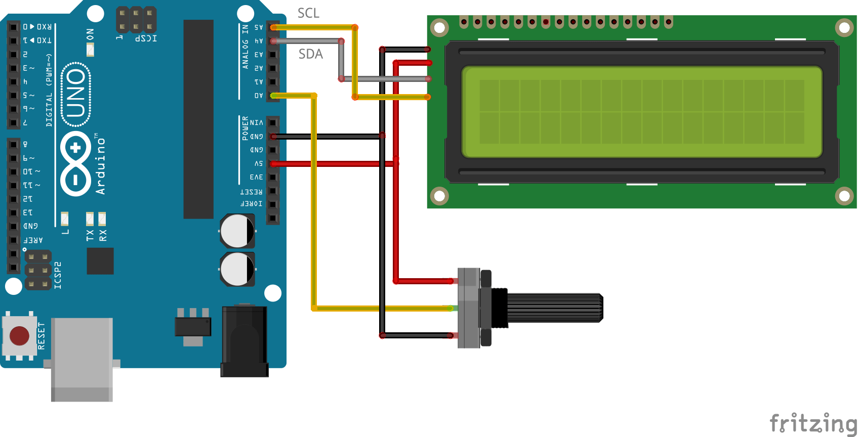 hight resolution of lcd display with potentiometer bb