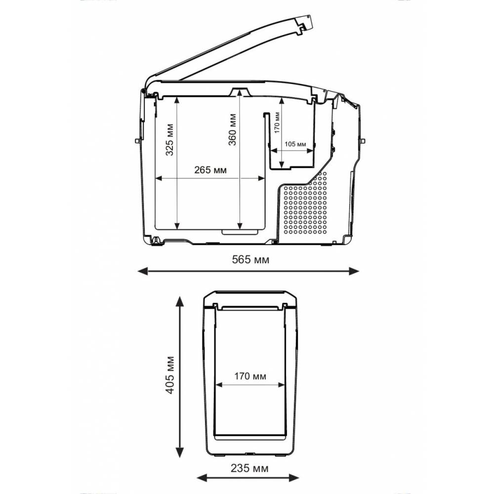 medium resolution of indelb tb18 portable compressor fridge freezer 18l 12 24v p u h hesta