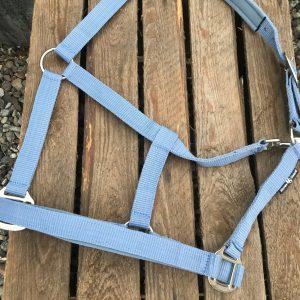 Horseguard nylon grime lyseblå